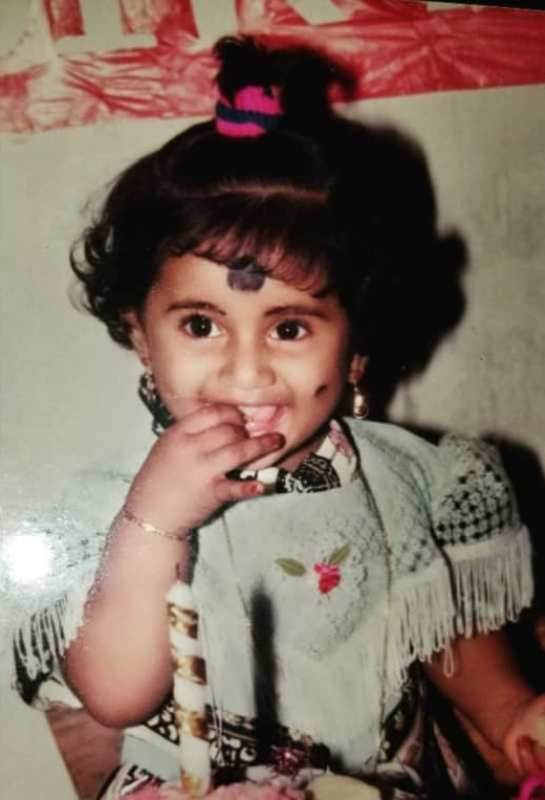 Losliya Mariyanesan As A Child