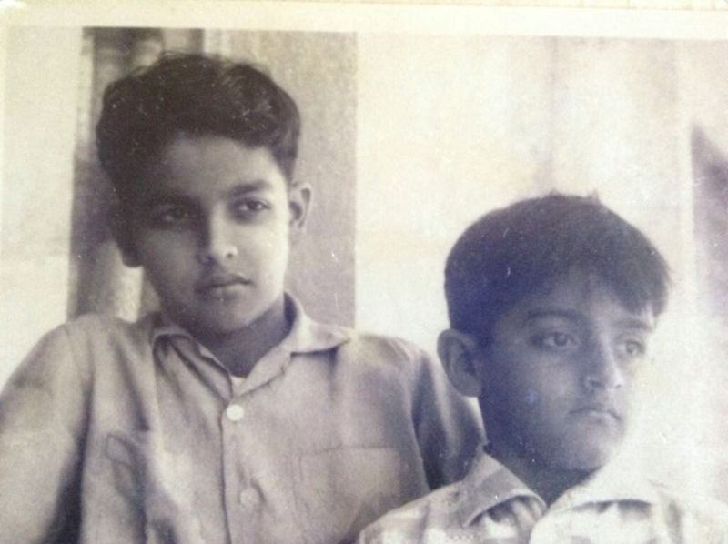 Mahesh Bhatt And His Brother Mukesh As A Child