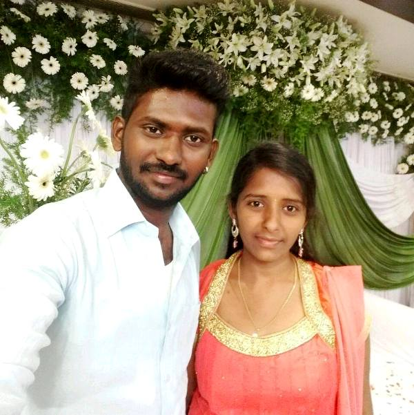 Mahesh Vitta With His Younger Sister Bharathi Vitta