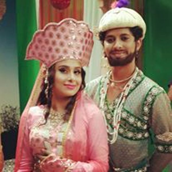 Mayur More and his Girlfriend Trisha in the Attire of Shah Jahan and Mumtaz