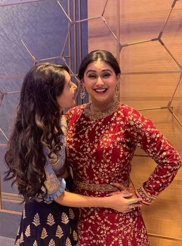 Nikita Dutta With Her Elder Sister