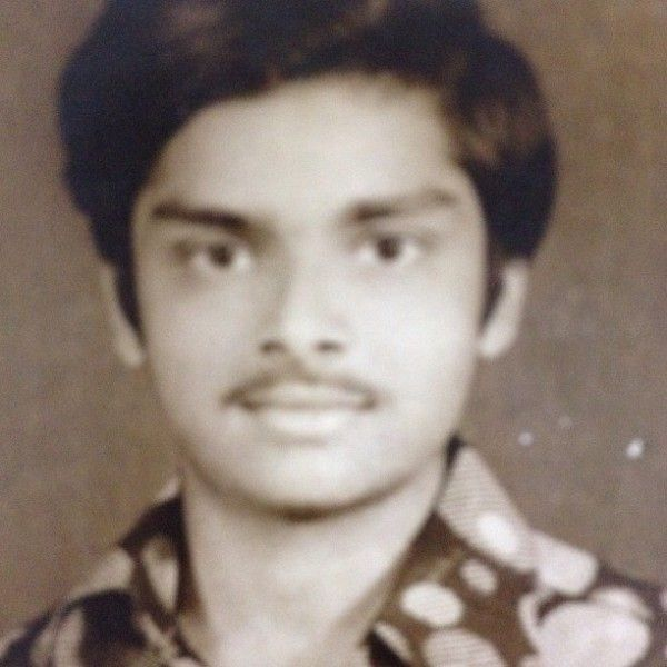 Prakal Prabhakar in his college days