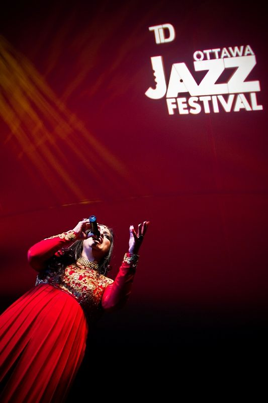 Richa Sharma At Ottawa Jazz Festival
