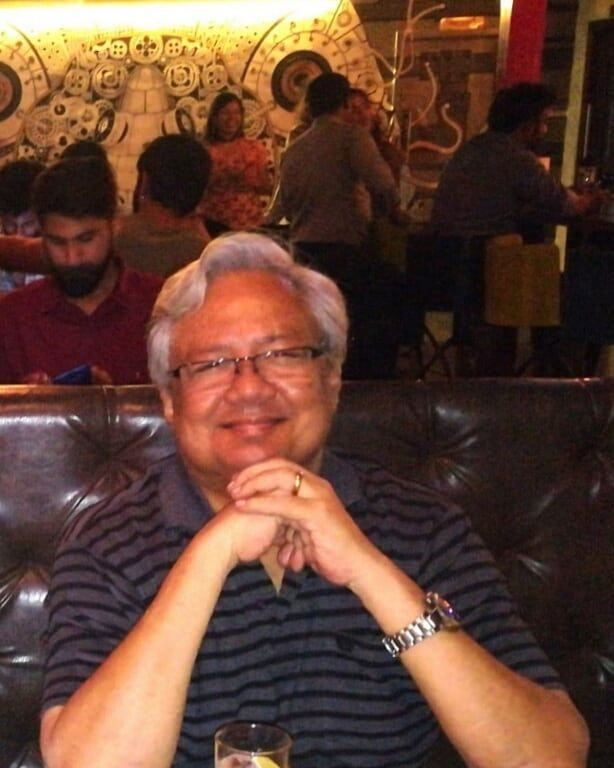 Rochelle Rao's father- Dr. N V Rao