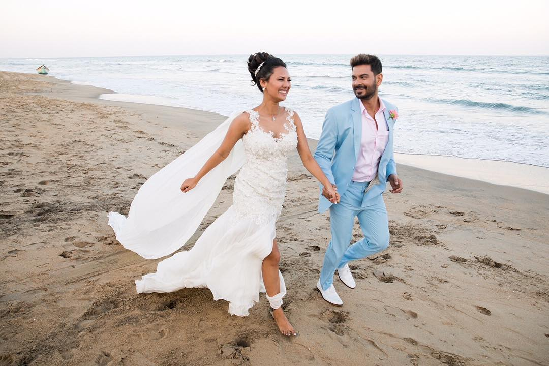 Keith Sequeira and Rochelle Rao's marriage pic