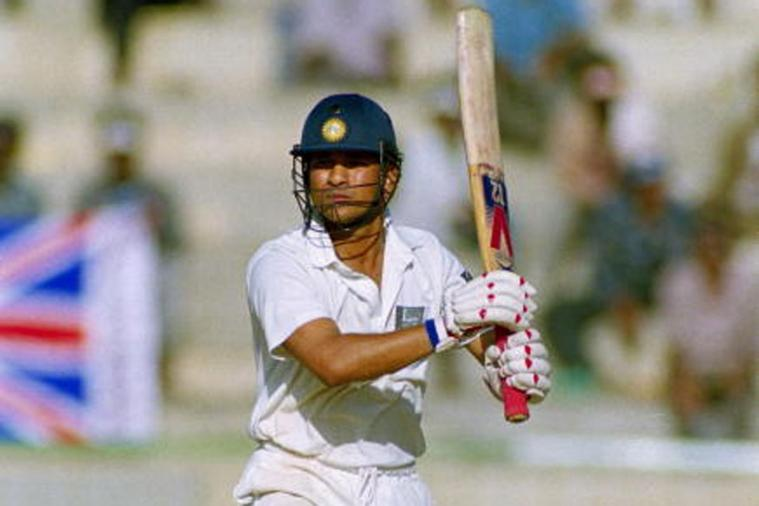 Sachin Tendulkar playing Ranji Trophy