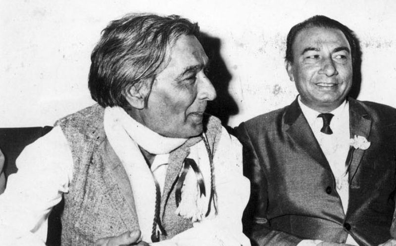 Sahir Ludhianvi With S. D. Burman