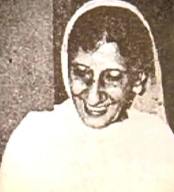 Sahir Ludhianvi's Mother