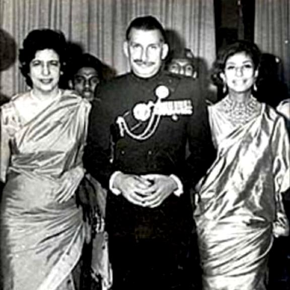 Sam Manekshaw After Being Commissioned As The Field Marshal