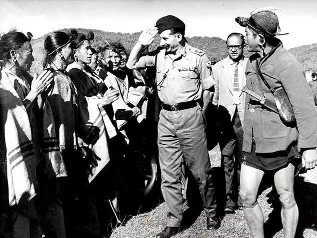 Sam Manekshaw During His Farewell By The Gorkha Regiment