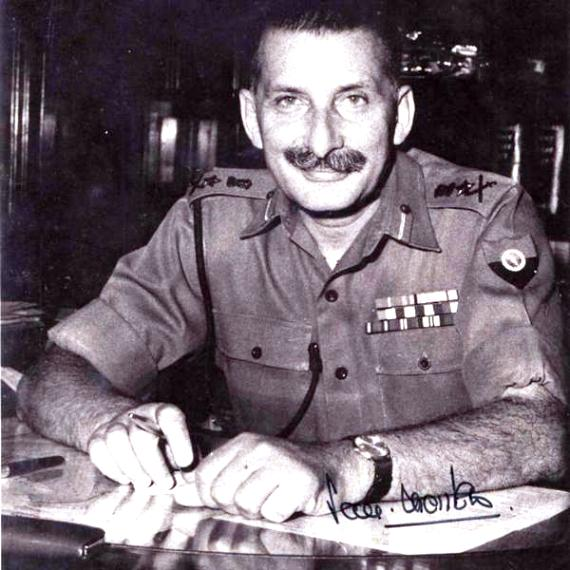 Sam Manekshaw In 1943 After Recovering From His Wounds