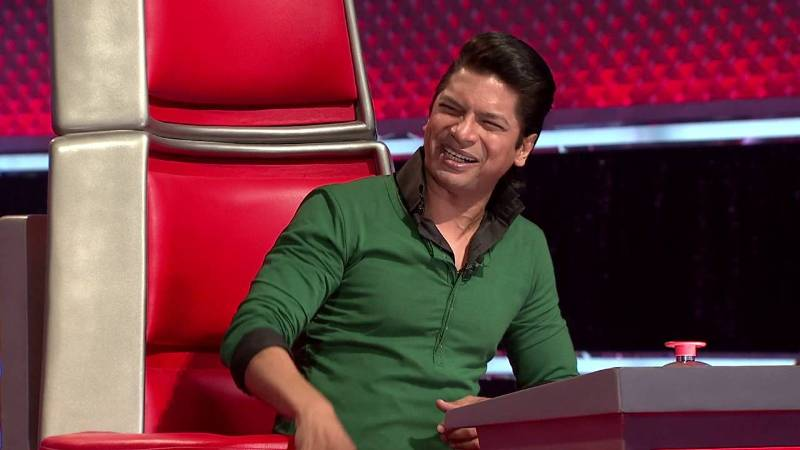 Shaan As Judge On 'The Voice India'
