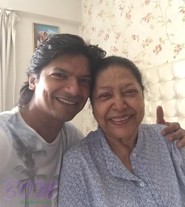 Shaan With His Mother