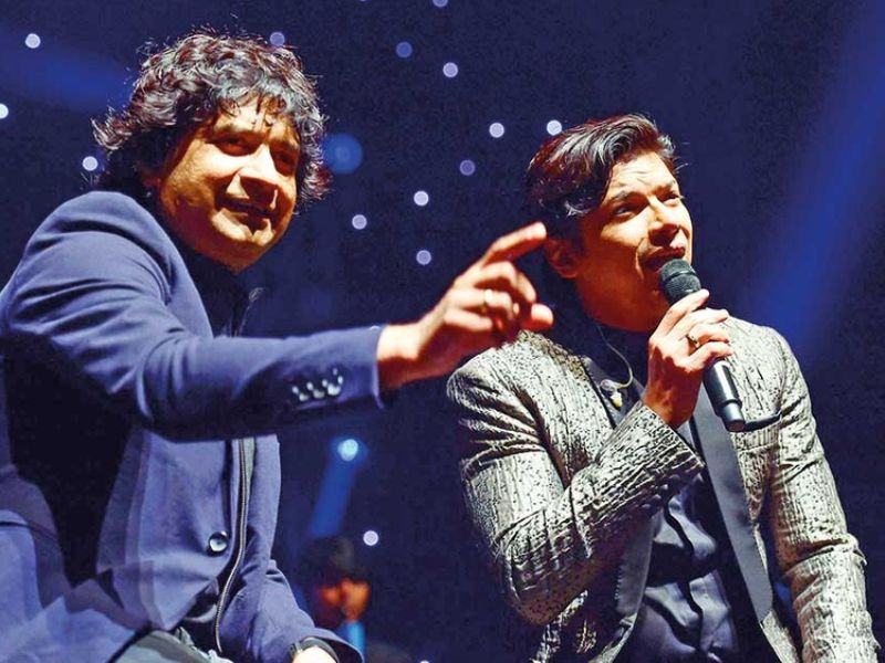 Shaan With KK