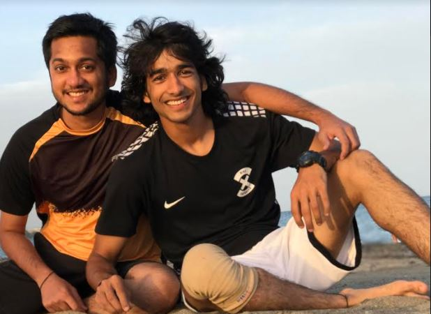Shantanu Maheshwari with his brother