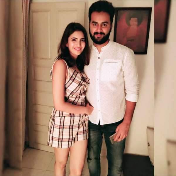 Shivani Raghuvanshi with her brother Shubham Raghuvanshi