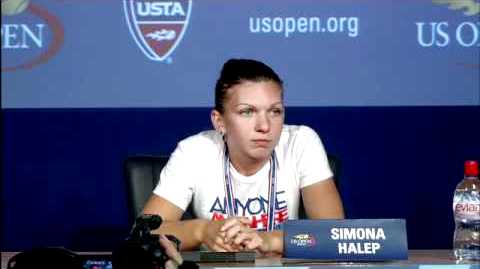 Simona Halep In The US Open 2011