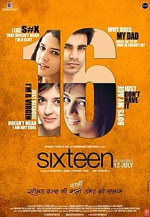 Sixteen- movie poster