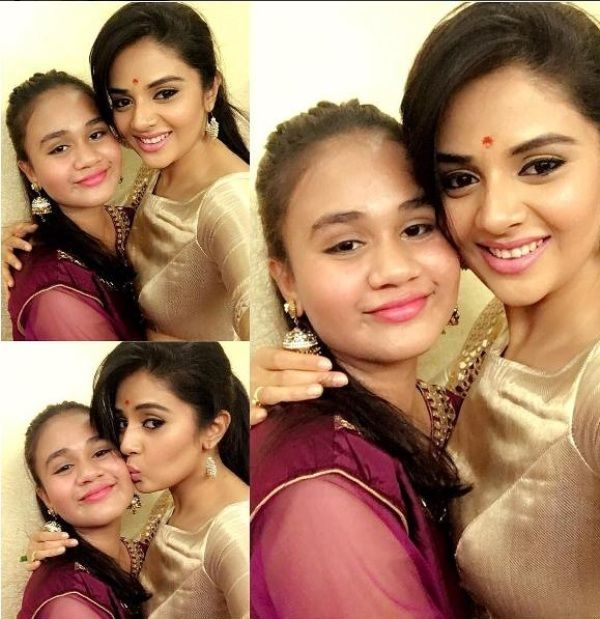 Sreemukhi With Her Sister