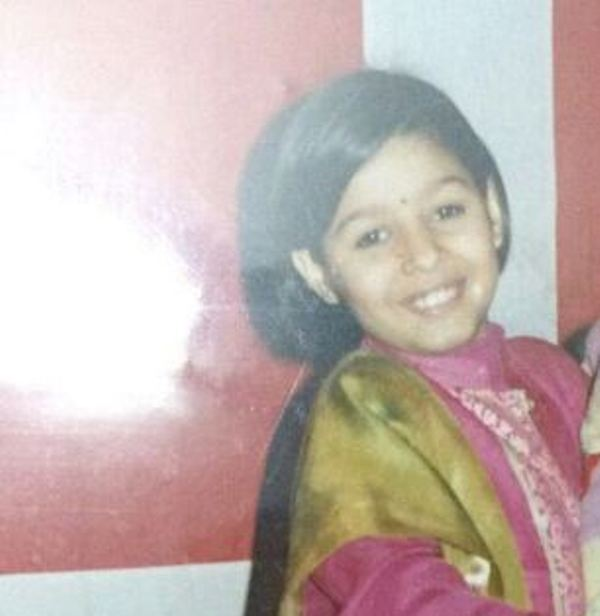 Sunidhi Chauhan As A Child