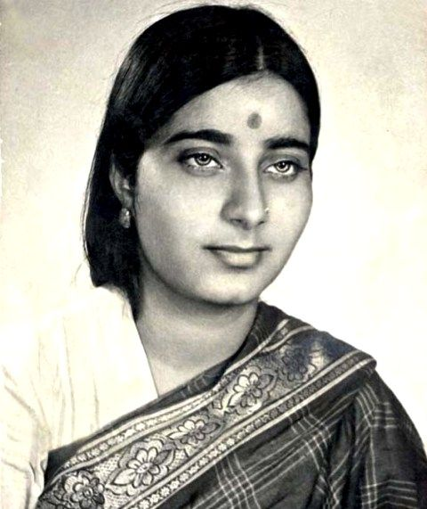 Sushma Swaraj In Her Younger Days