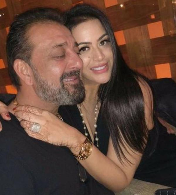 Trishala Dutt With Her Father