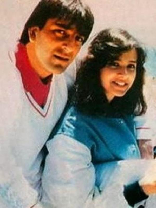 Trishala Dutt's Father, Sanjay Dutt & Mother, Richa Sharma