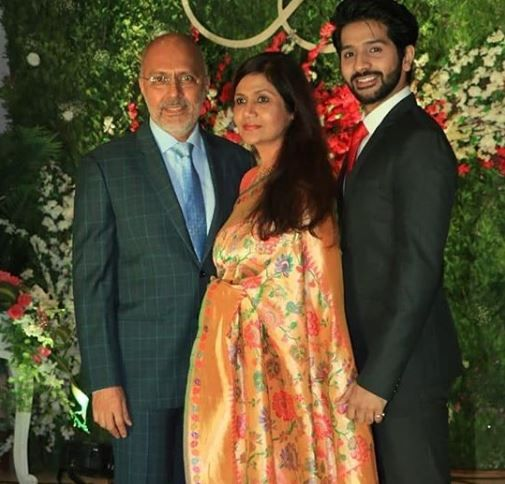 Vardhan Puri with his parents