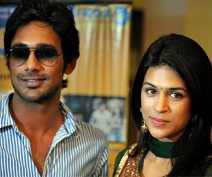 Varun Sandesh with his girlfriend, Shraddha Das