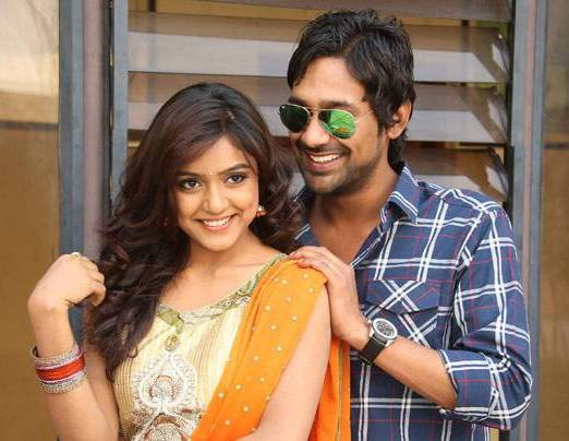 Varun Sandesh with his wife