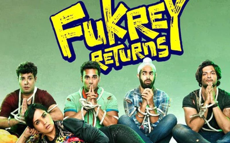 "Varun Sharma in ""Fukrey Returns"""