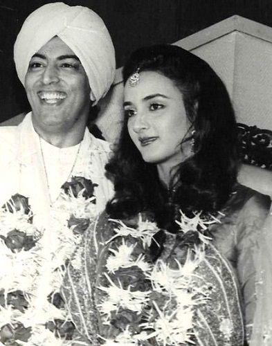 Vindu Dara Singh and Farah Naaz's marriage picture