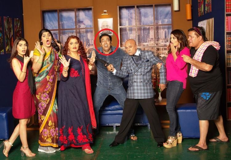 "Vindu Dara Singh in ""Golmaal The Play"""
