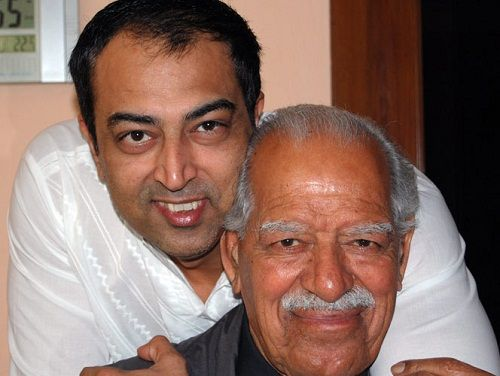 Vindu Dara Singh with his father- Dara Singh
