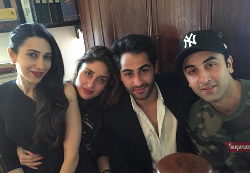 Armaan Jain WIth His Cousins