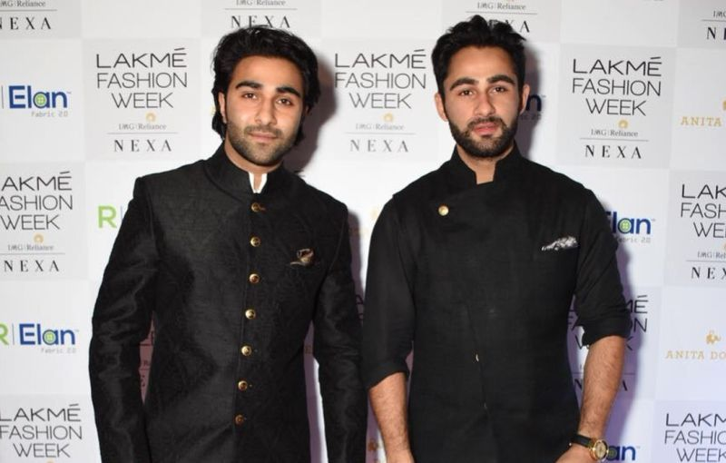 Armaan Jain With His Brother Aadar