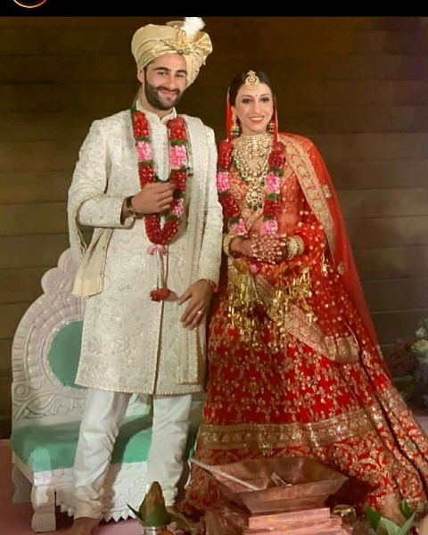 Anissa Malhotra's wedding picture