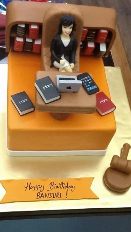 Bansuri Swaraj's Birthday Cake