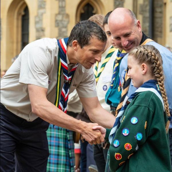 Bear Grylls As Chief Ambassador of World Scouting