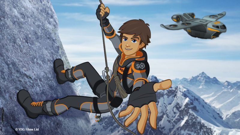 Bear Grylls animated Feature Film- Bear Grylls Young Adventurer