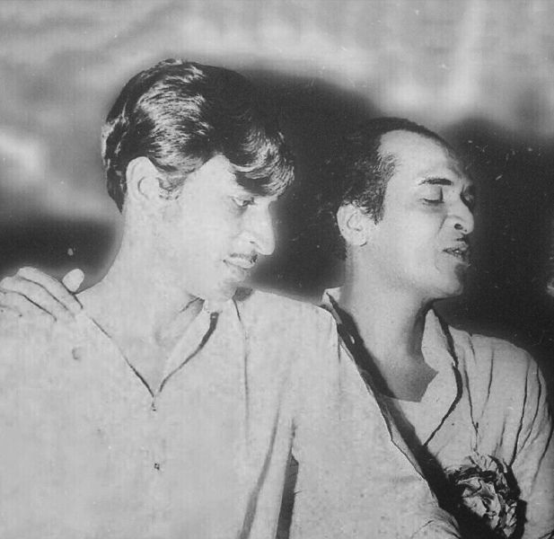 Bhupen Hazarika With His Brother Jayanta
