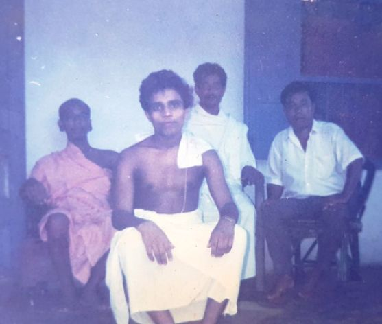 Early image of Acharya Balkrishna