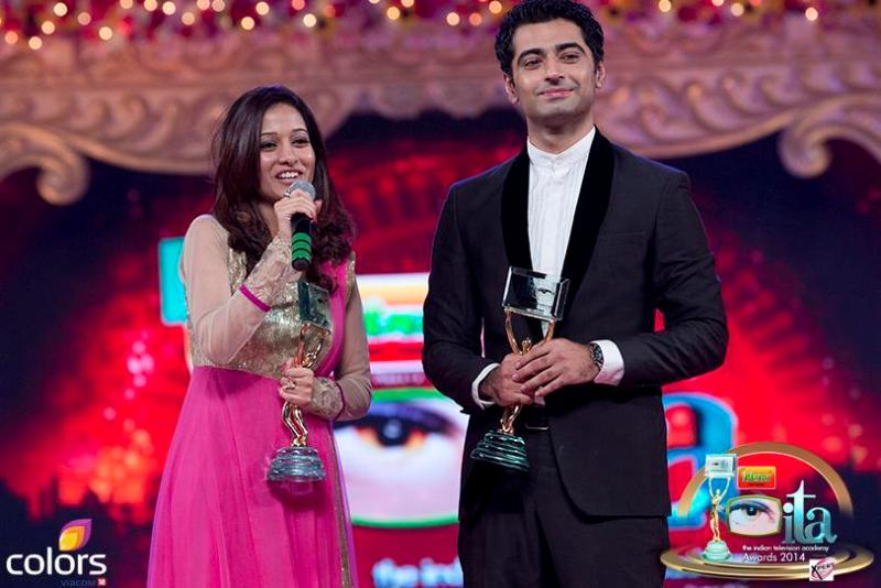 Harshad Arora and Preetika Rao with Awards
