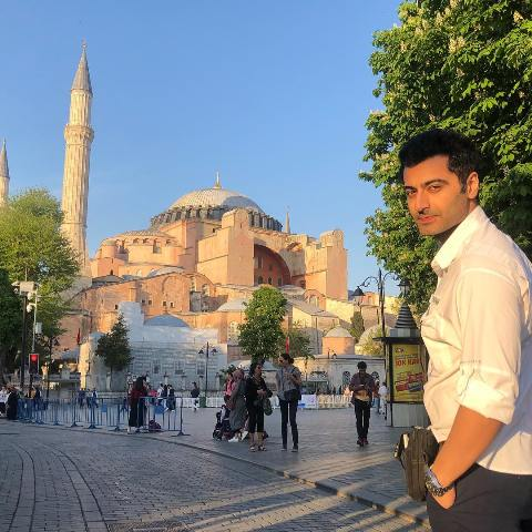 Harshad Arora in Istanbul