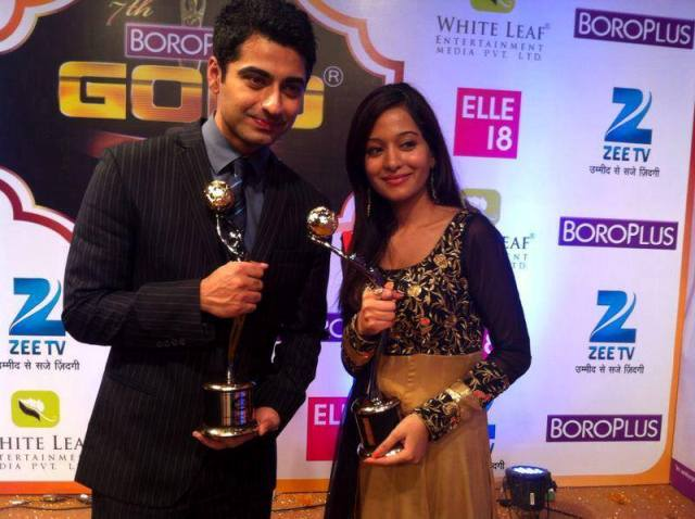 Harshad Arora with Gold Award