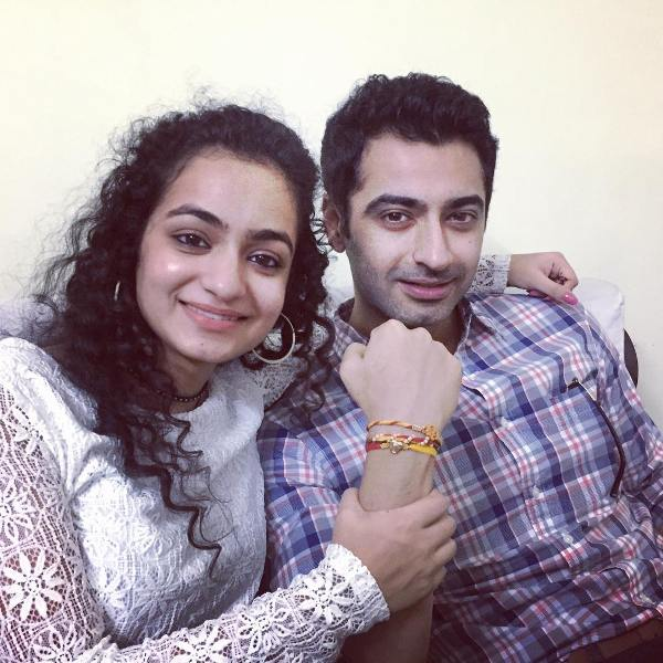 Harshad Arora with his sister