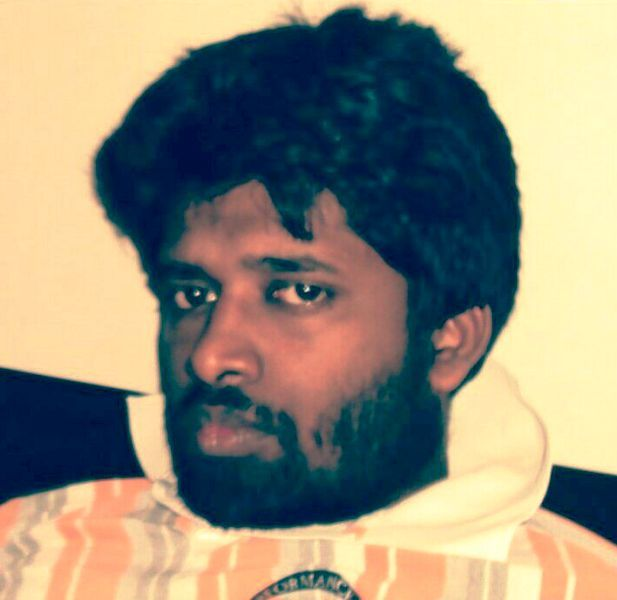 Kannan Gopinathan during his younger days