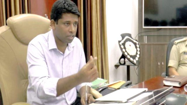 Kannan Gopinathan in office