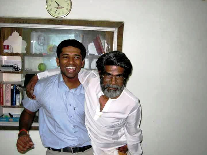 Kannan Gopinathan with his father
