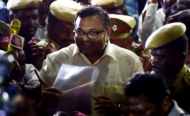 Karti Chidambaram called in for questioning in the INX Media case